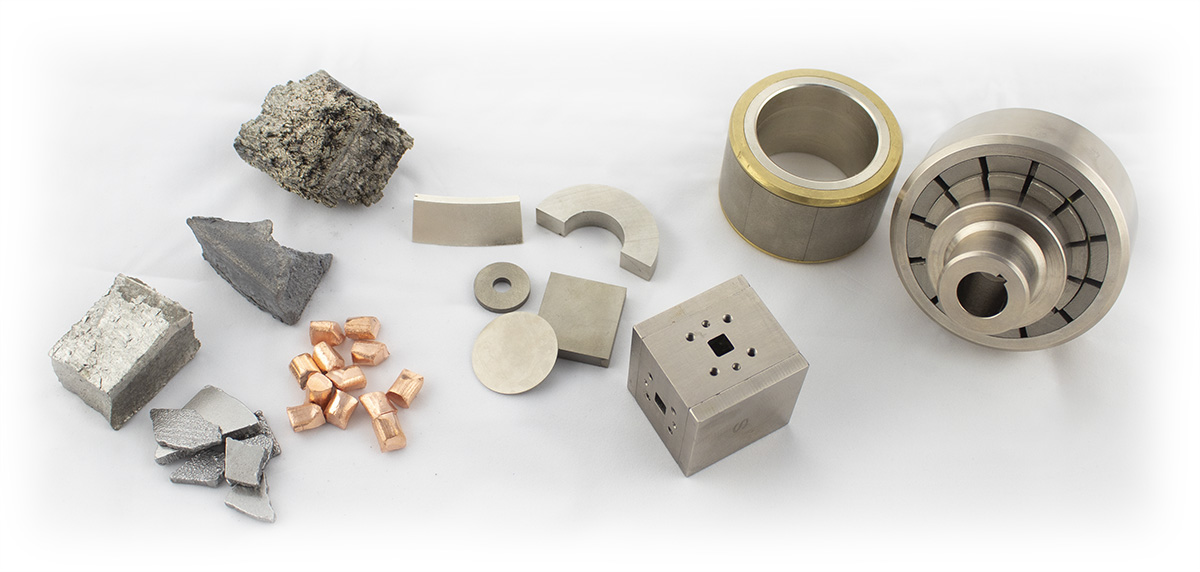 Materials, Magnet Components, and Magnetic Assemblies